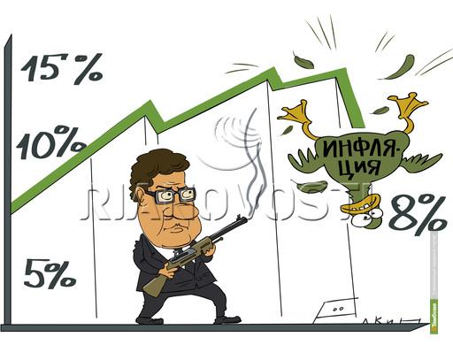 Темпы роста инфляции превысили ожидания Минэкономразвития