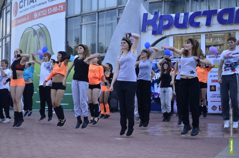 Грандиозный флэшмоб поставил яркую точку в финале «Танцуй, Тамбов!»