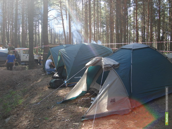 Тамбовские школьники будут поправлять здоровье в палаточных лагерях