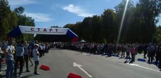 Тысячи тамбовчан приняли участие в «Кроссе наций — 2017»