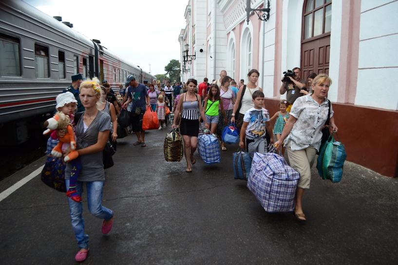 Горожане открыли сбор вещей для беженцев из Украины