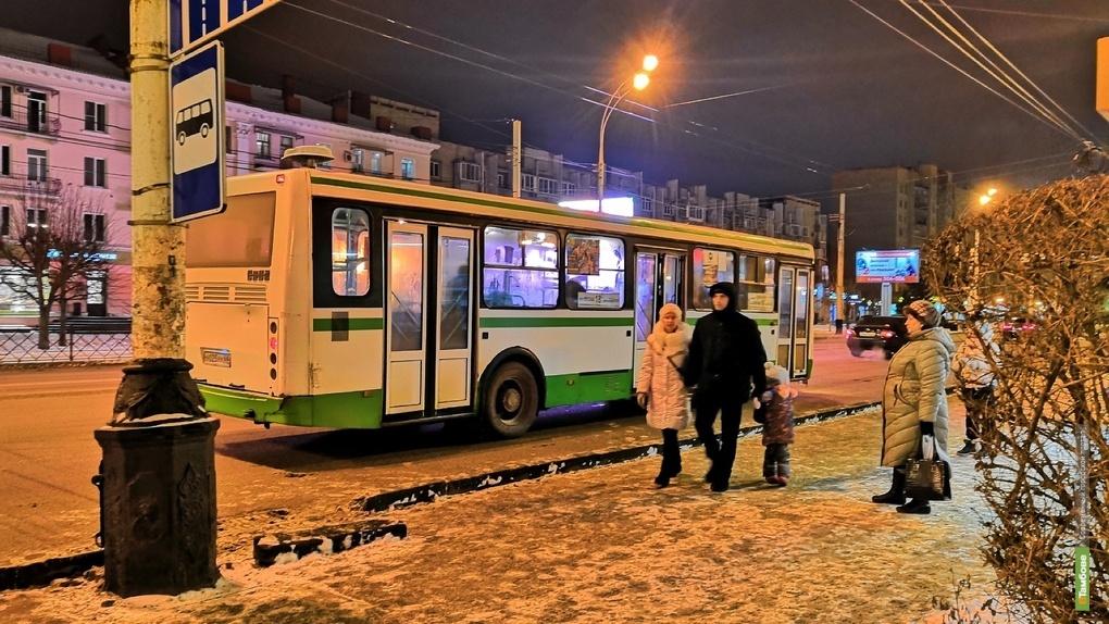 В Тамбове появятся новые маршруты общественного транспорта