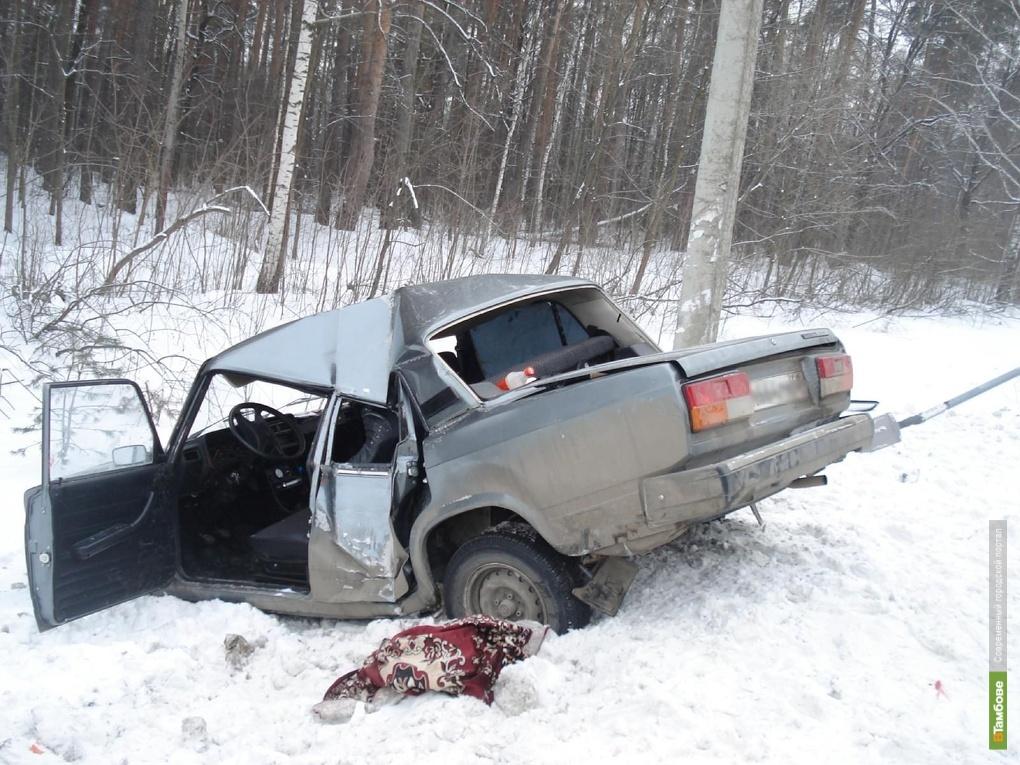 За неделю в автоавариях  погибли 8 тамбовчан