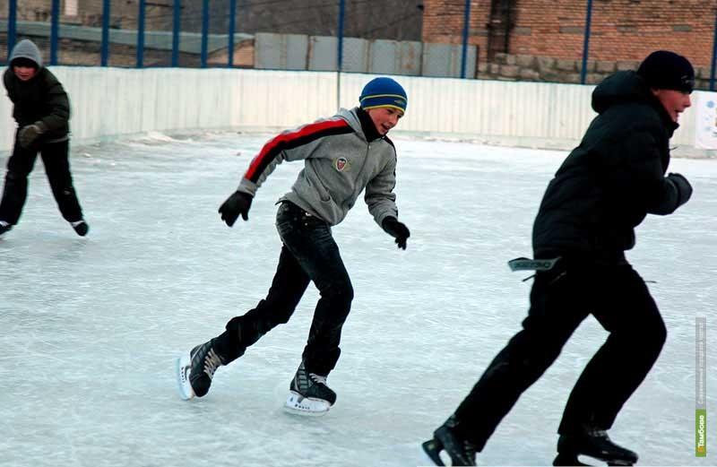 Тамбовские школьники сразятся на городском конькобежном турнире