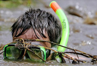 Побит мировой рекорд по плаванию в болоте