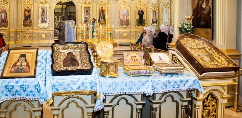В Тамбов прибыли святыни Толгского монастыря