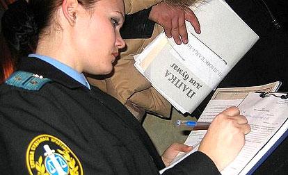 Судебные приставы ловят должников вместе с автоинспекторами