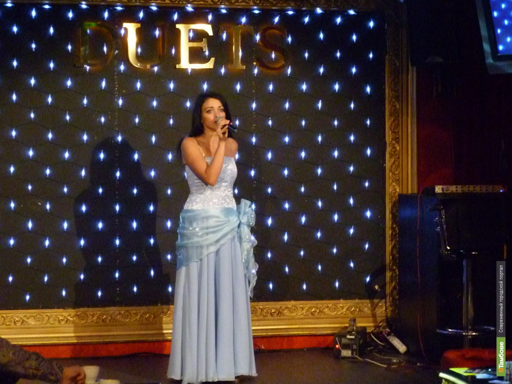 Тамбовская певица поедет на международный конкурс
