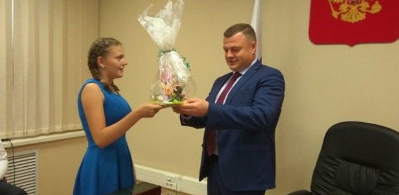 Тамбовская восьмиклассница получила подарок от президента России