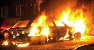 В Мичуринске загорелся автомобиль