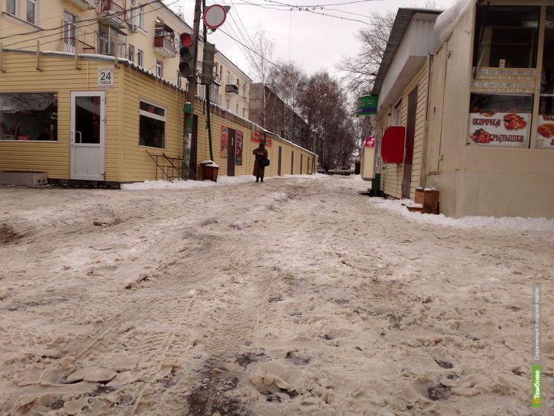 Тамбовчане пожаловались губернатору на дорожный «ландшафт»