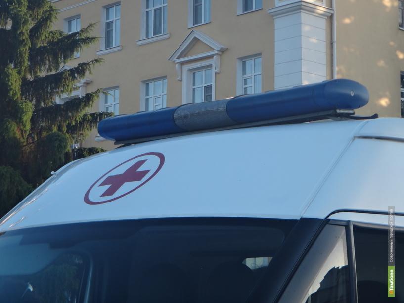 В селе Шиновка Кирсановского района два парня перевернулись на мопеде