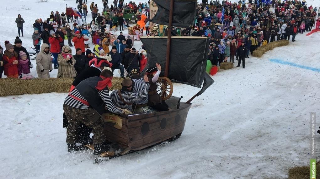В этом году фестиваль «Лысогорские санки» будет проходить два дня
