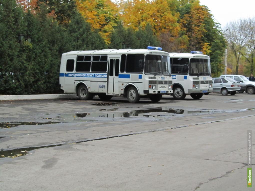На мобильные пункты полиции Тамбова выделили 3 млн. рублей