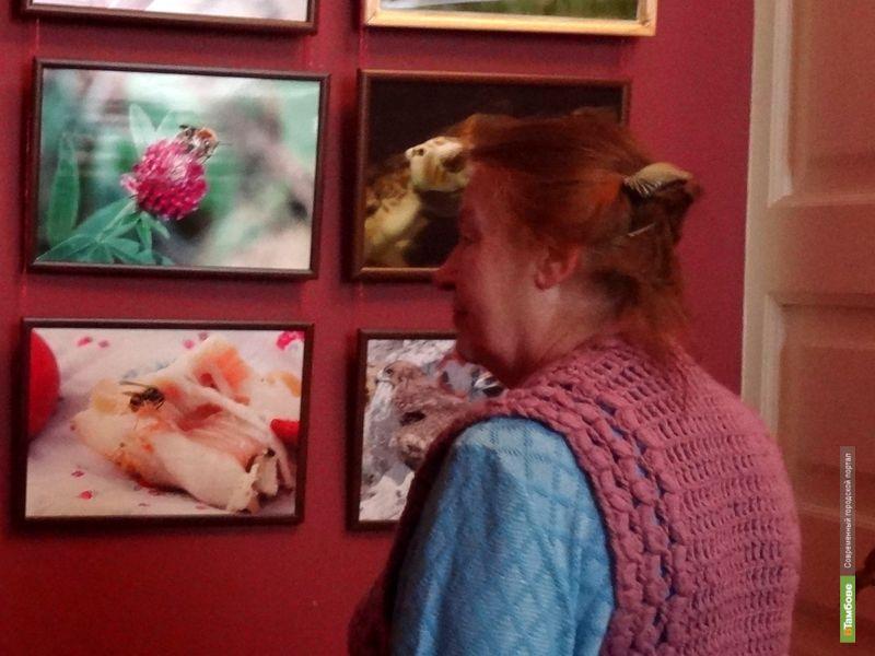 В Тамбове открылась первая фотовыставка Олега Каверина