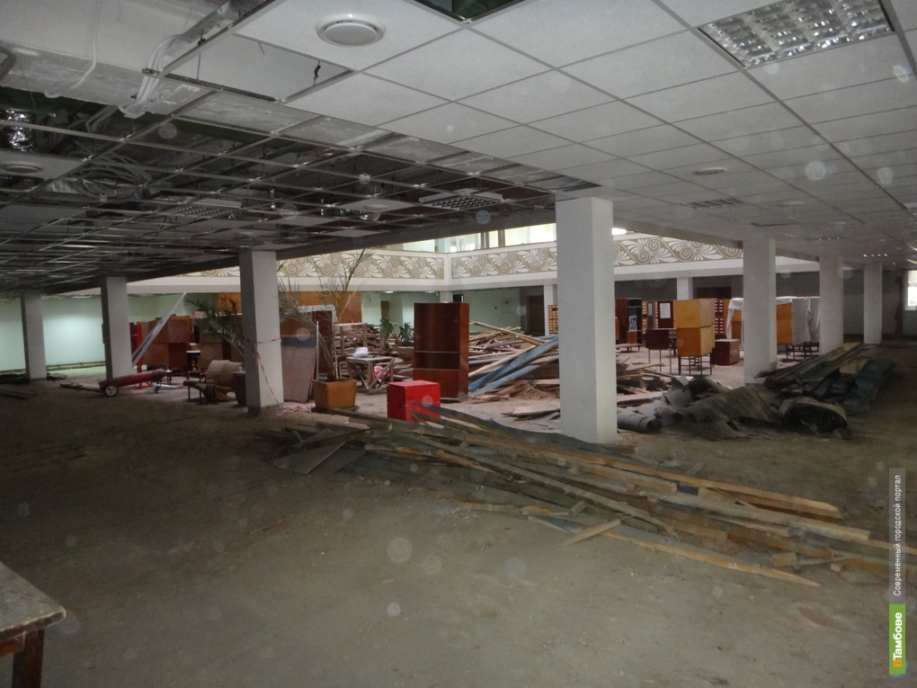 Тамбовское УФАС остановило ремонт библиотеки имени Пушкина