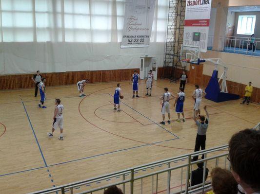 БК «Тамбов», обыграв БК «Родники», занял 5 место в турнирной таблице