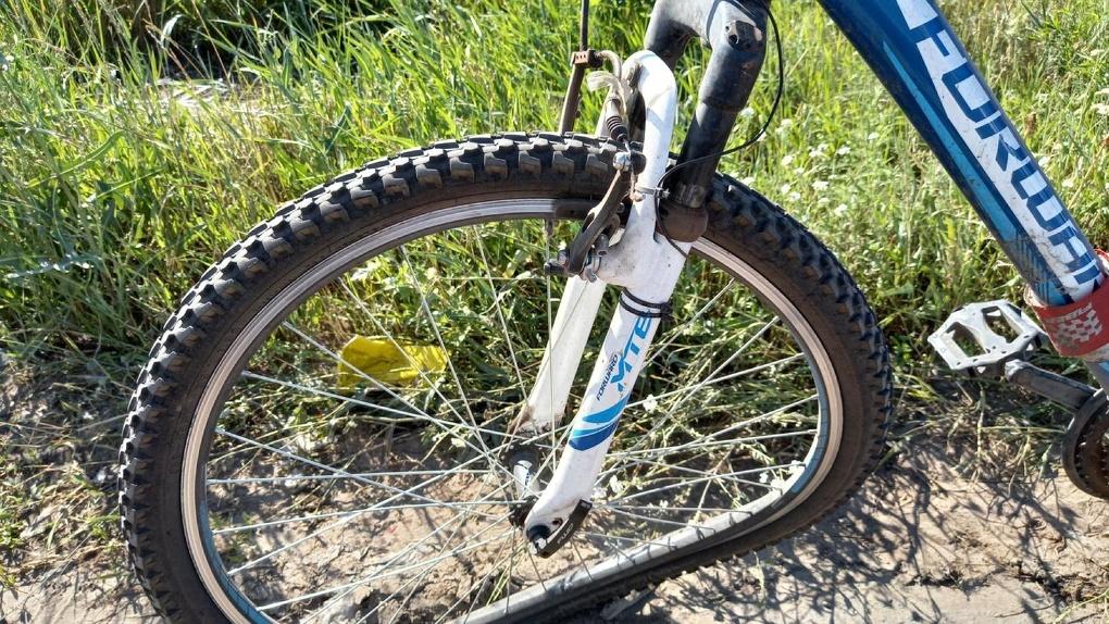 В Рассказово «Калина» сбила велосипедистку