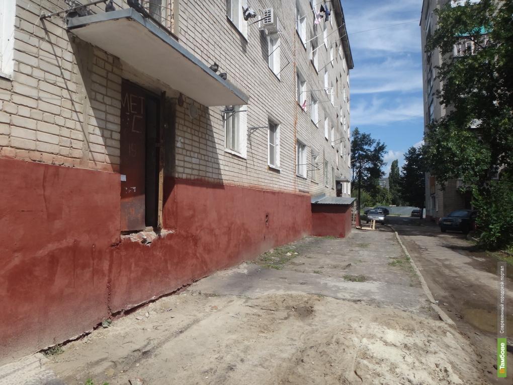 На севере Тамбова в любой день может рухнуть многоэтажка