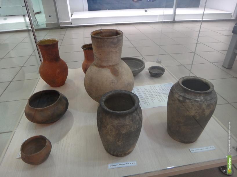 В торговом центре Тамбова открылась выставка исторических артефактов