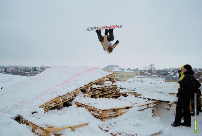 В Тамбове обещают построить сноупарк