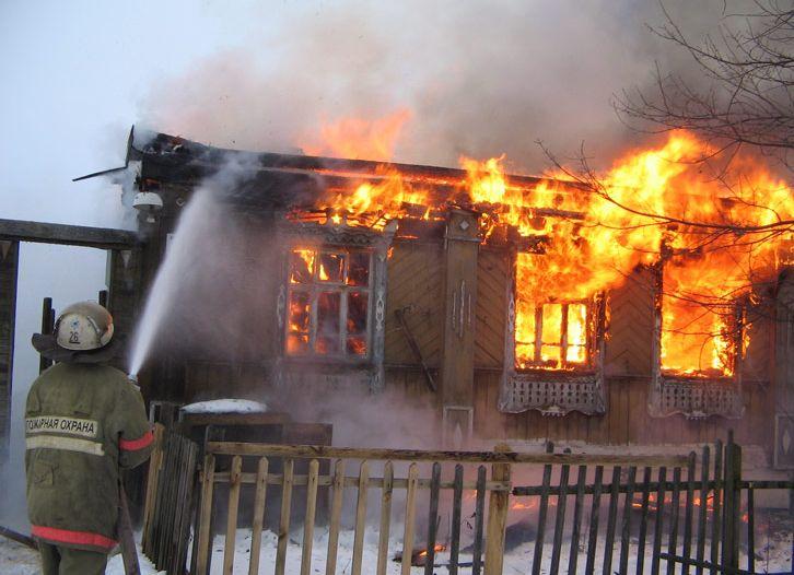 В последние дни октября во время пожаров погибли два человека