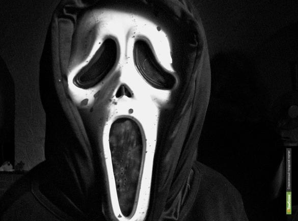 """Тамбовский грабитель пошёл на дело в маске из фильма """"Крик"""""""