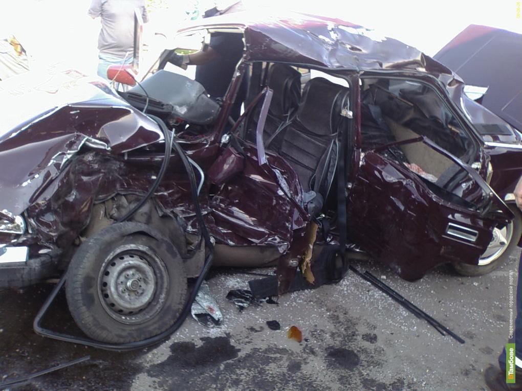 Авария на Тамбовщине: погиб водитель