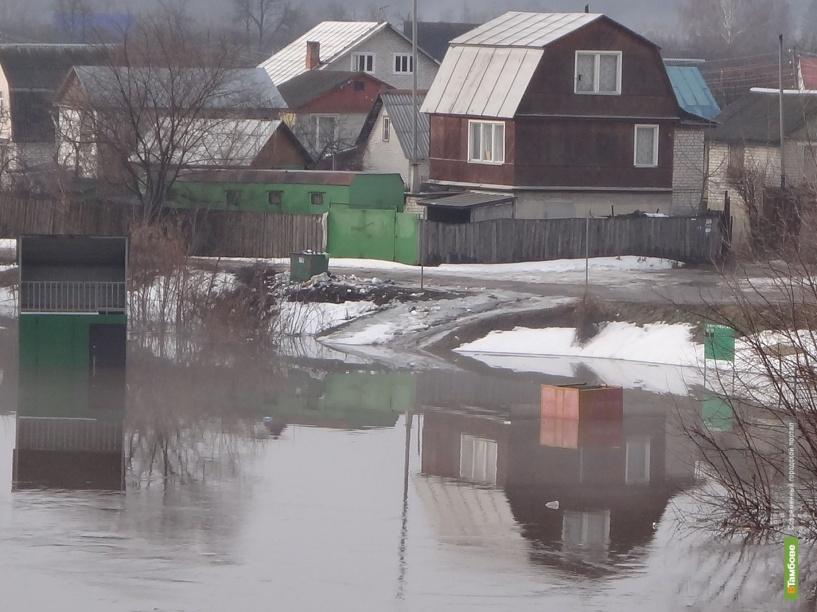На борьбу с паводком Тамбовщина выделила 3 миллиона рублей