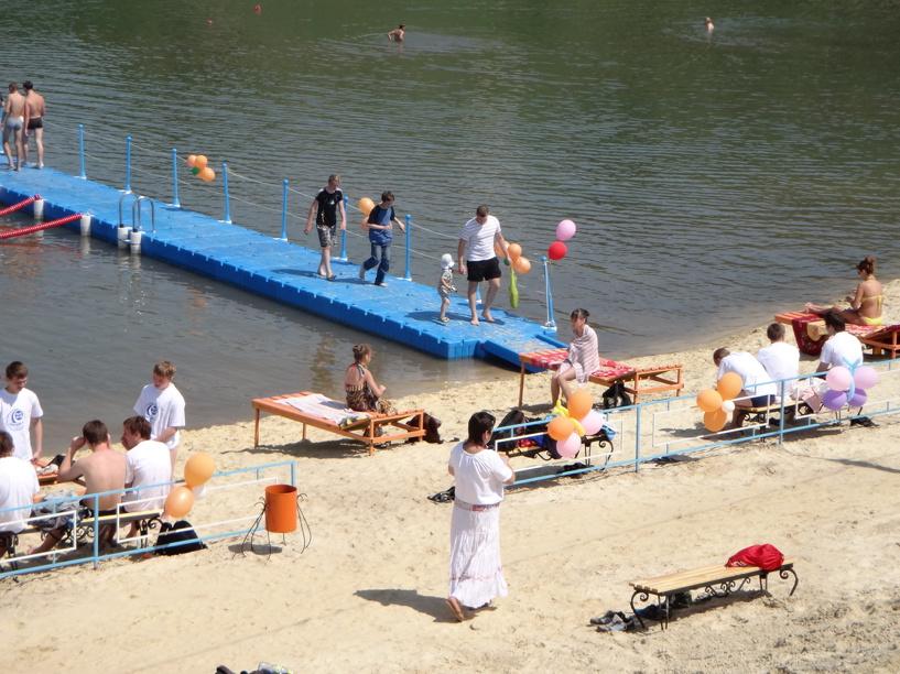 Городские пляжи готовят к купальному сезону