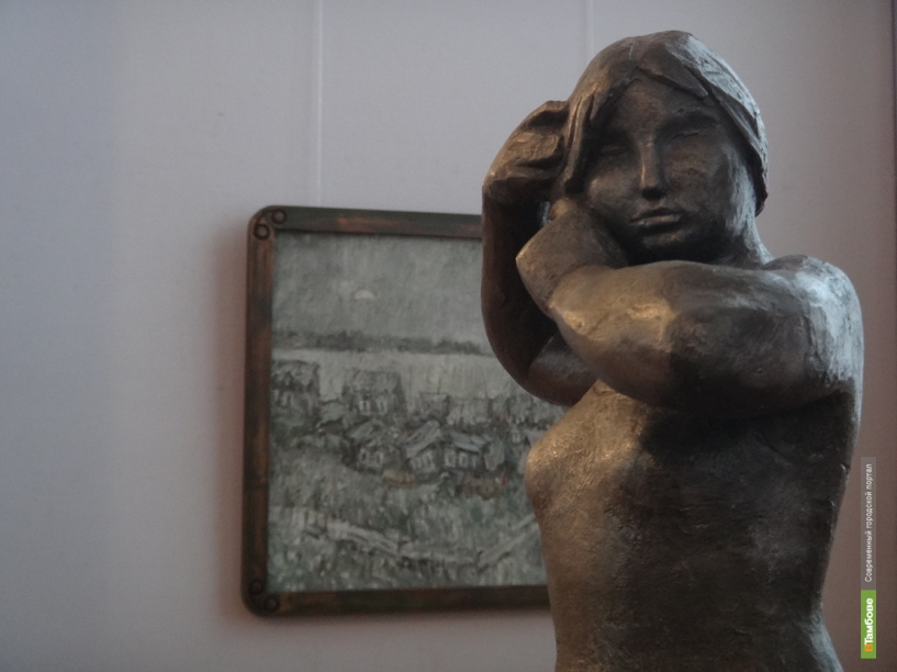В Тамбовской картинной галерее открылась выставка двух художников