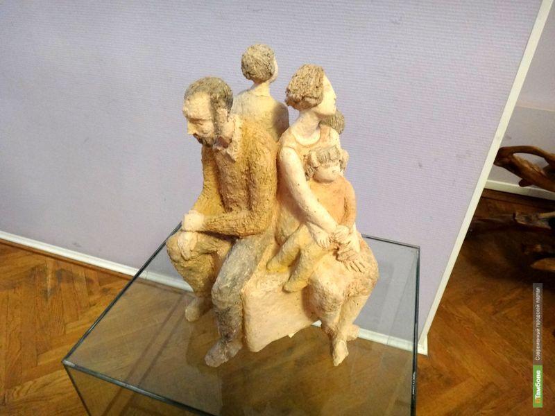 В Тамбове открылась выставка скульптуры «Два поколения»