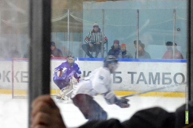 "ХК ""Белгород"" ""задавил"" тамбовских хоккеистов"