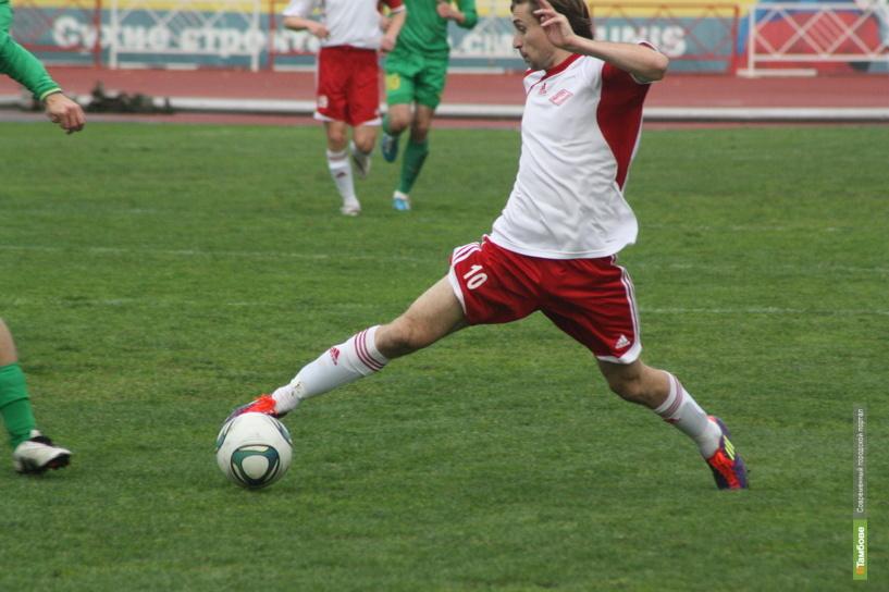Тамбовские футболисты набрали за игру семь «горчичников»