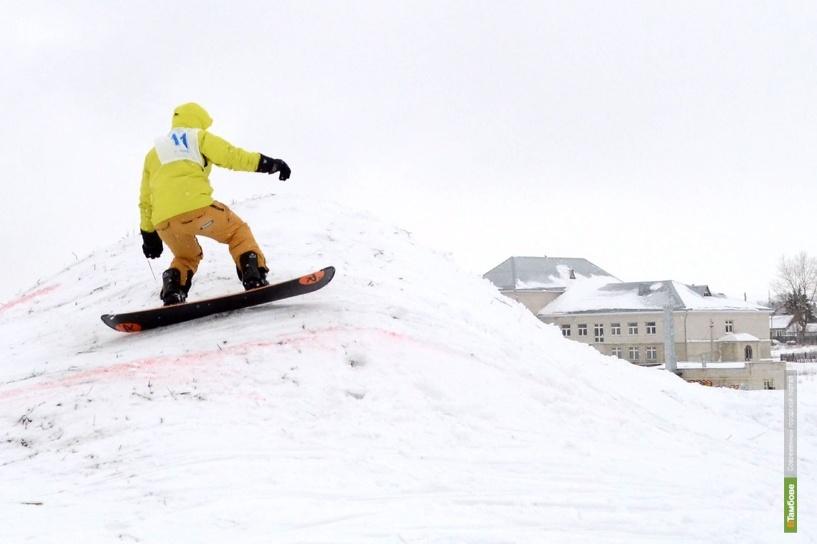 Фестиваль по сноуборду прошел в Тамбове