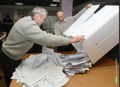 Тамбовчане отдали предпочтение партии власти