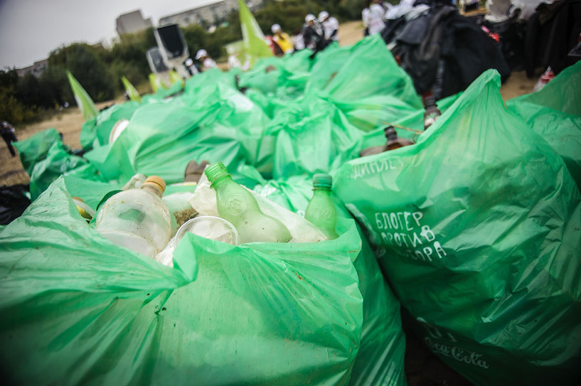 За две недели из Тамбова вывезли более 175 тонн мусора