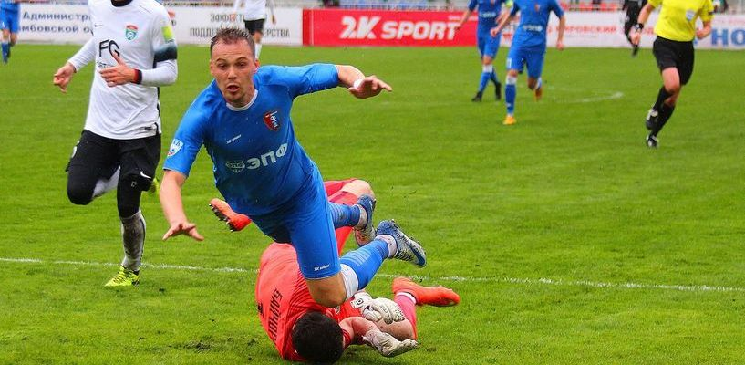 ФК «Тамбов» разгромил «Тосно» в последнем домашнем матче