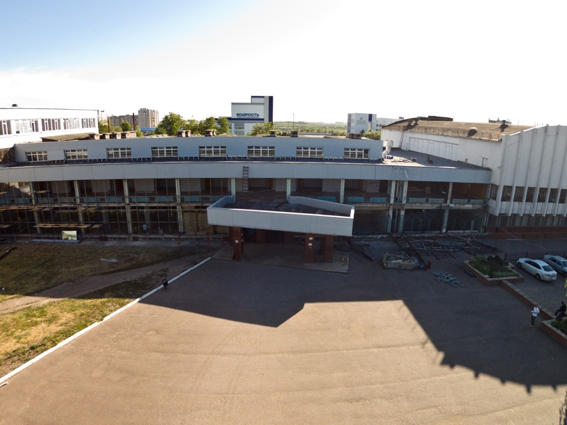 Здание корпуса ТГТУ на Мичуринской немного «разбомбили»