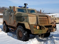 Российская армия получит новые броневики «Медведь» и «Волк»