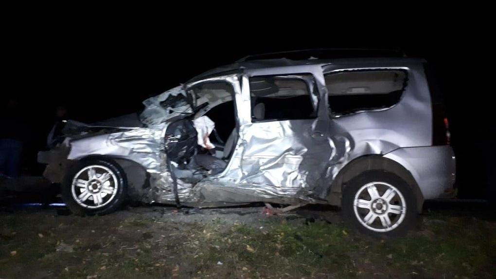 На трассе в Первомайском районе в ДТП погибли два человека