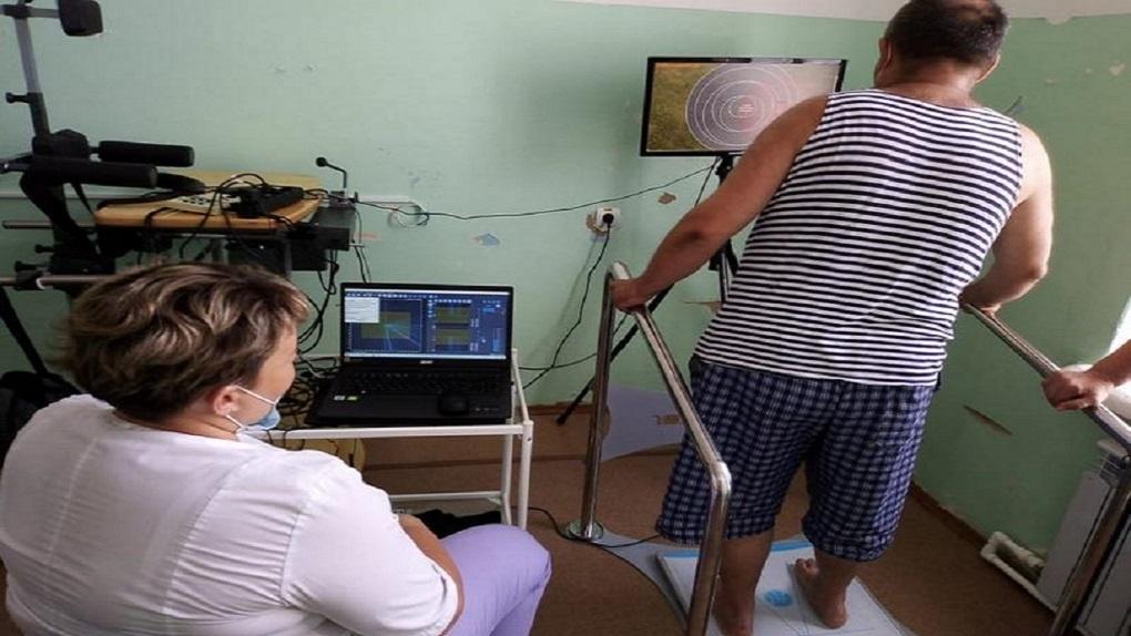 Моршанская ЦРБ получила новое оборудование для реабилитации пациентов после инсульта