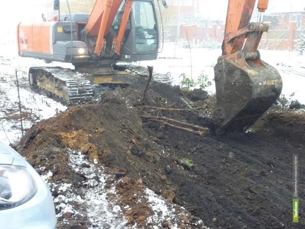 НН: Строительство дорог мешает жителям поселка Северный