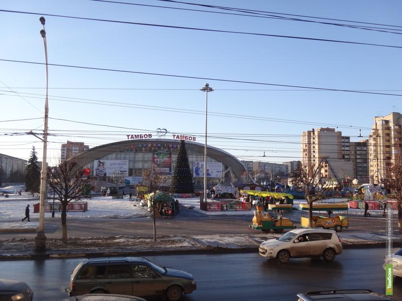 Центр Тамбова перекроют для машин из-за ярмарки