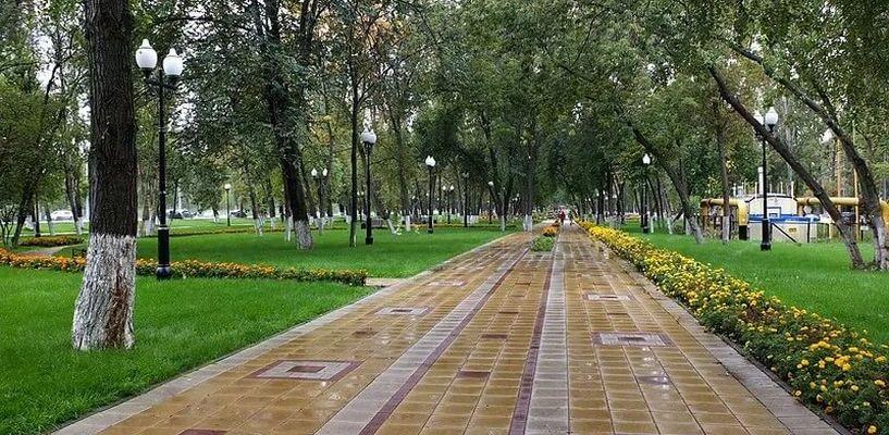 Туристов в Мичуринске в скором времени встретит новый и современный сквер