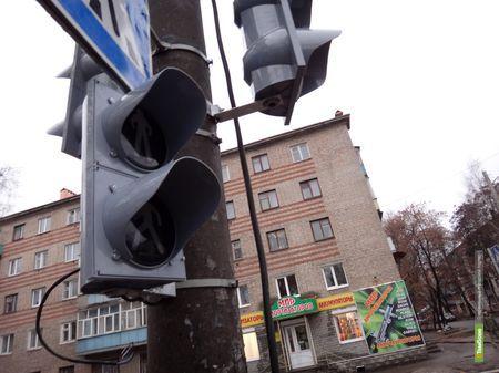 Проблемный тамбовский перекресток «обзавелся» светофором