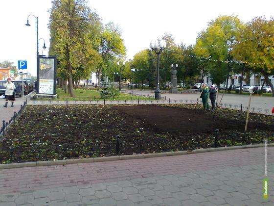Через месяц в Тамбове забьют фонтаны