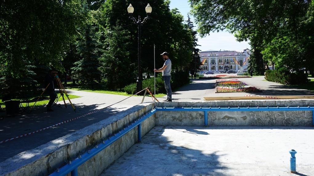 В Тамбове отремонтируют 9 фонтанов