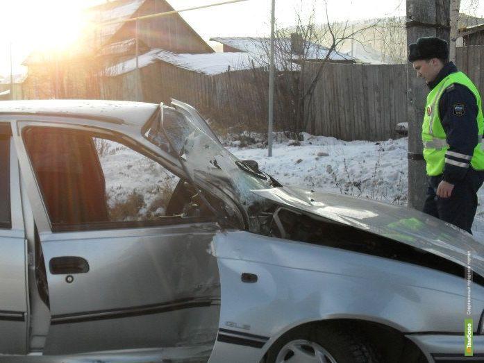 Под Тамбовом погиб водитель иномарки