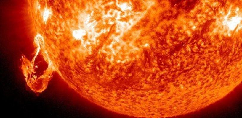 На Солнце зафиксирована шестая за неделю мощная вспышка